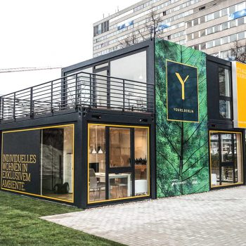 Vertriebscontainer Immobilienmarketing Berlin - ZENKER DESIGN