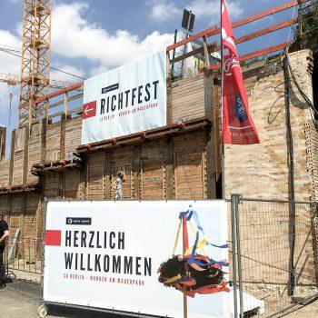 Groth Gruppe Richtfest Berlin Mauerpark SoBerlin - ZENKER DESIGN