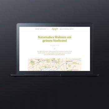 Angergold Webseite Immobilienmarketing Berlin - ZENKER DESIGN