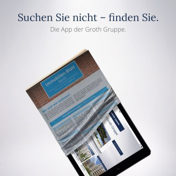 Anzeige App Immobilienmarketing Berlin - ZENKER DESIGN