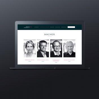 House of Synchronicity Webseite Immobilienmarketing Berlin - ZENKER DESIGN