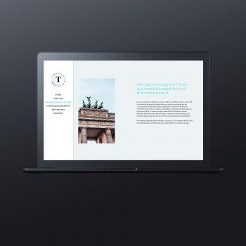 Tiburtius Immobilien Webseite - ZENKER DESIGN