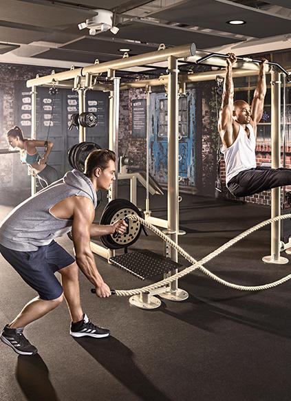 McFIT Cage Interior Fitnessstudio - ZENKER DESIGN