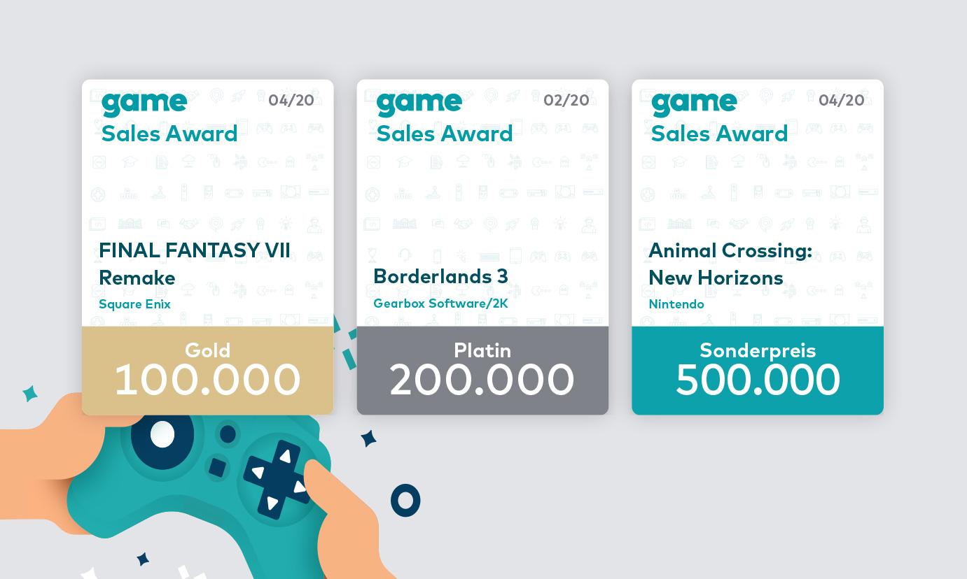 game sales award groß - Zenker Design
